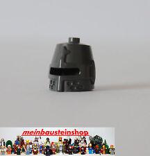 Lego® Minifig Ritter Helm geschlossen Pearl Dunkelgrau 89520 aus 7946 7947 6918