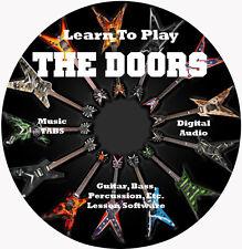 The Doors Guitar TABS Lesson CD 77 Songs + Backing Tracks + BONUS!