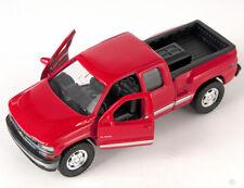 BLITZ VERSAND Chevrolet Silverado 1999 rot / red Welly Modell Auto 1:34 NEU OVP