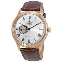 Orient Open Heart Automatic White Dial Men's Watch FAG00001S0