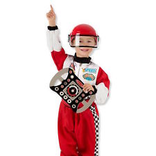 Melissa & Doug Racing Car Driver 3-6 yrs child role play fancy dress costume