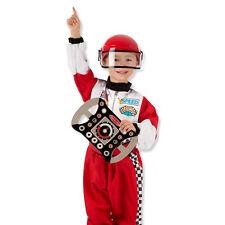 Melissa & Doug Racing Car Driver 3-6 yrs child role play fancy dress costume