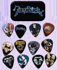METALLICA  Guitar Pick Tin Includes a Set of 12 Guitar Picks