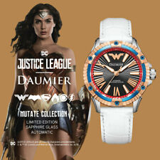 Luxury Automatic Analog Justice League Wonder Woman Devia Watch for Woman