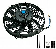 """16"""" Universal Slimline Electric Cooling Fan - Reversible BRISCA RALLY DRIFT"""
