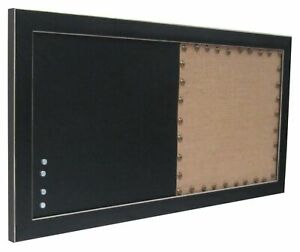 Wyeth Combination Chalk and Cork Board - 11x24 in Magnetic Chalkboard Combo NEW