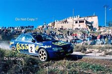 Kenneth Eriksson Subaru Impreza 555 Catalunya Rally 1996 Photograph