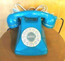 Vintage METROPLIS Telephone *** push-button ** Spruce Green
