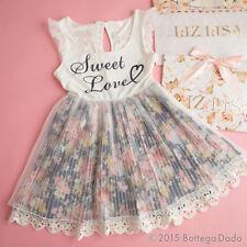 LIZ LISA Off-shoulder Floral Docking OP Dress Hime Gyaru Lolita Kawaii 109