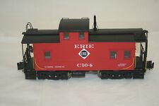 3rd Rail C-104 O Scale Brass Erie Steel Caboose