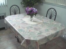 """20 mil CLEAR  PLASTIC / VINYL ~ TABLE COVER  54"""" x 5 yds   HEAVY ~ SUPER CLEAR"""