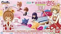Bandai Hagukotto Card Captor Sakura Gashapon 5 set complete mini figure capsule
