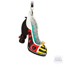Disney Parks Authentic Queen of Hearts Alice in Wonderland Runway Shoe Ornament