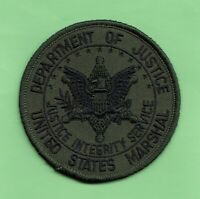 C8 * USMS MARSHAL SOG OD GREEN DOJ VOFTF FUGITIVE TASKFORCE FEDERAL POLICE PATCH