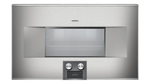 NEW Perfect Gaggenau 400 Series 30 Inch Combi-Steam Oven BS465610 Retail $7199