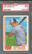 1982 Topps Traded Cal Ripken Baltimore Orioles #98T Baseball Card