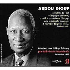 148 COFFRET 3 CD ABDOU DIOUF ENTRETIENS AVEC PHILIPPE SAINTENY POUR RADIO FRANCE