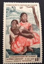 Timbre Océanie PA, n°30, 14f vert/rouge, xx, TBC, cote 80e