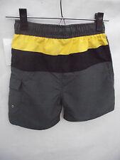 BNWT Boys Sz 7 Smart Grey & Panels Urban Supply Elastic Waist Swim Board Shorts