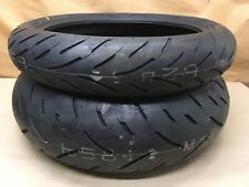 Dunlop GPR-300 front and rear tires, 120/70/17 and 190/50/17 NEW
