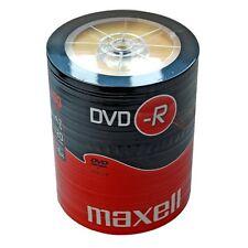 MAXELL 100 LOT DE 16 X VITESSE 120 MINUTES DVD-R DISQUES 4,7 GO - 275733