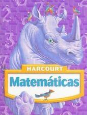 Harcourt Matematicas, Grade 4 Spanish Edition