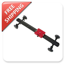 "Kamerar 60cm/SD-1 MKII Camera Slider Dolly Arca Swiss Support FREE 11"" Magic Arm"