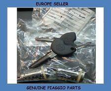 PIAGGIO LIBERTY 50 2T / PIAGGIO LIBERTY 50 4T 04-on Genuine CYLINDER KEY LOCK SET
