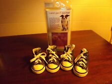 Looking Good Sparkle Canvas Dog Sneakers MIP Sm 2014 Fashion Pet Brand #800434