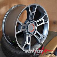 20x9 5x150 Wheels Set Fits Toyota Tundra Sequoia Land Cruiser 20 Inch Gun Metal