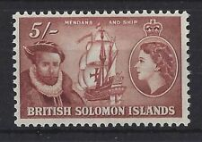 Ships, Boats Mint Hinged British Singles Stamps
