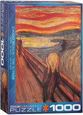Eurographics Jigsaw - The Scream  by Munch (1000 pieces)