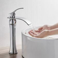 Hoch Waschtischarmatur Wasserfall Wasserhahn Waschbecken Armatur Mischbatterie