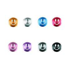 Smiley Face Aluminum Metal Home Button Sticker For Apple iPhone 6S iPod iPad Air