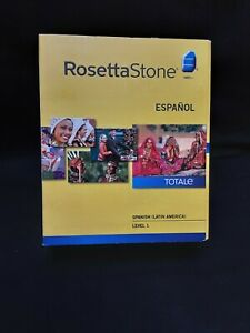Rosetta Stone Espanol Learning Software & Audio Companion (Spanish Level 1 )