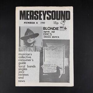 Merseysound #6 1980 Liverpool punk fanzine Eric's Chris Stein of Blondie