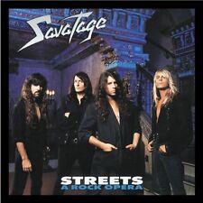 Savatage - Streets - A Rock Opera NEW BOOKLET + BONUSTRAKCS OVP