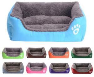 Winter Warm Pet Bed Dog Nest House Soft Warm Kennel Blanket Nest Washable UK