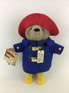 """Paddington Bear Yottoy 12"""" Plush Stuffed Animal Toy Raincoat Boots 2013 w Tags"""