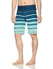 Billabong Men's All Day X Stripe Boardshort, Green, 36