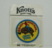 Knott's Berry Farm Vintage Souvenir Patch New Free Shipping