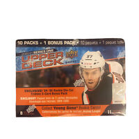 "2020-21 Upper Deck Hockey Series 1 Mega Box ""Young Guns"" 11 Packs EXCLUSIVE!"
