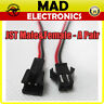 1 Pair JST 2.5 SM 2-Pin Connector plug Female & Male with Wires Cables