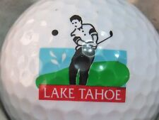 (1) LAKE TAHOE LOGO GOLF BALL