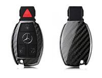 Pinalloy Carbon Fiber Schlüssel Cover Hülle Key case Fall Fur Mercedes Benz