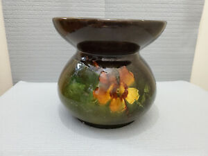 Weller Pottery Louwelsa? Unsigned Spittoon  Antique