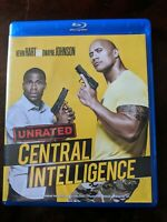 (Blu-ray) CENTRAL INTELLIGENCE (2016) Dwayne Johnson UNRATED EDITION