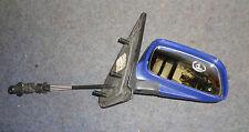 Außenspiegel rechts manuell Blau (Kratzer)  VW Polo 6N1  Bj. 94-99