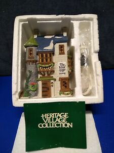 "Dept 56 Dickens Village  ""The Wool Shop""   #5924-2  RARE 🎅 NIB"