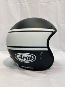 Arai Freeway Classic Bandage White Urban Touring Open Face Helmet M